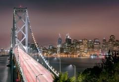 Мост Золотые ворота ночью картинки