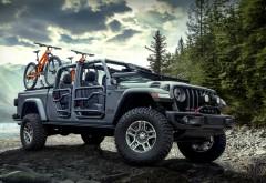 Пикап Jeep Gladiator 2020 обои HD