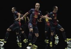 Андрес Иньеста FC Barcelona 4K обои