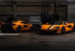McLaren MSO 570S Spider Papaya Spark картинки