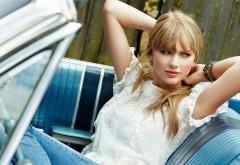 Тейлор Свифт в машине обои HD