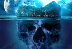 Таинственный остров виде черепа картинки