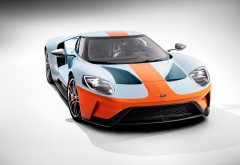 2019 Ford GT Heritage Edition спорткар обои