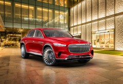 2018 Vision Mercedes-Maybach Ultimate Luxury обои