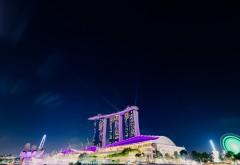 Marina Bay Sands гостинеца обои 4K