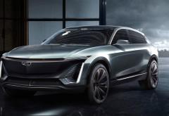 Трехрядный электро кроссовер Cadillac EV Concept 2019 обои
