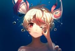 Подводное аниме картинки
