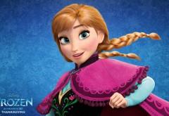Сказочна принцесса Анна из мультфильма Холодное сердц…