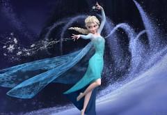 Магическая королева из мультфильма Холодное сердце