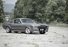 Крутой автомобиль Ford Mustang на природе