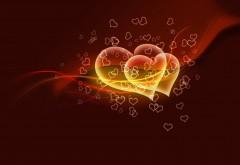 Красивые сердечка на день Святого Валентина