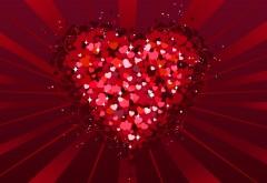 Миллион сердечек на день Святого Валентина