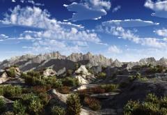 Обои гор и скал, заставки природы