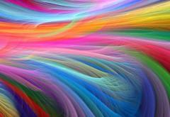 Яркие цвета абстрактные обои, фоновые обои