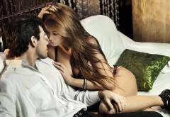 Обои сексуальной пары девушки и парня