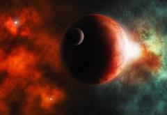 Широкоформатные обои космоса