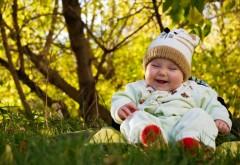 Малыш, улыбка, улица, природа, детский костюмчик, дитя