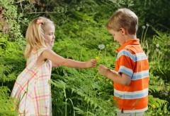Романтическая пара мальчик и девочка обои