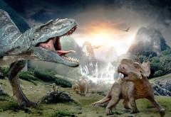 Обои 3D динозавров, фэнтези обои 3Д