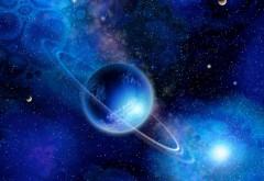 Обои планеты на фоне разных галактик картинки скачать