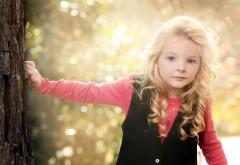 Блондинка, девочка, свет, настроение, ребенок, красотка
