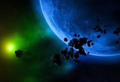 Космос, астероид, небо, астероиды, планета, мир, небеса