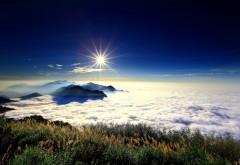 Фотография пейзажа с вершины горы