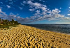 Морской пляж