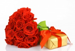 Романтический подарок любимой картинки