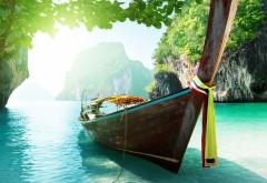 Лодка на необитаемом острове