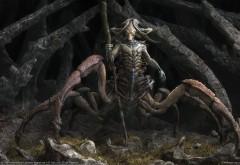 Фэнтези обои паука-человека