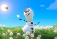 Олаф снеговик из мультфильма Холодное сердце