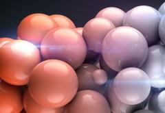 Абстрактные обои шаров
