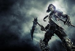 Darksiders 2 Death Mask Spit Bones обои игры
