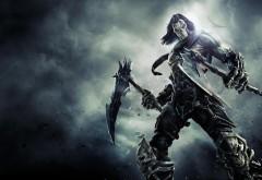 Darksiders 2 Death Mask Spit Bones обои игры