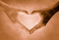 сердце из рук
