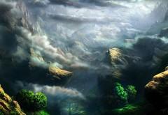 Сказочные горы 3D скачать