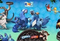 Картинка всех героев мультфильма Рио 2