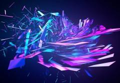 Обои фоны абстрактные кристаллы