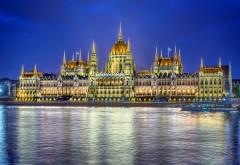 Фантастическое здание парламента в Венгрии