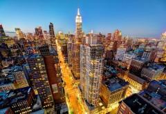 1920x1200, Нью-Йорк Сити Манхэттен небоскребы