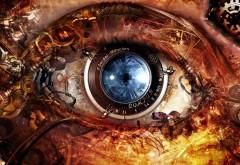 Стимпанк абстрактные глаза