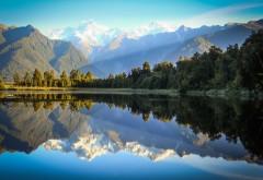 Новая Зеландия озеро Мэтисон