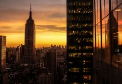 Манхэттен Нью-Йорк США небоскребы