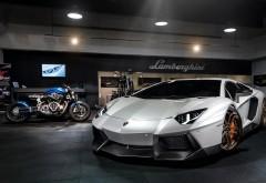 2014 Lamborghini Aventador Novitec Torado машина и мотоцикл