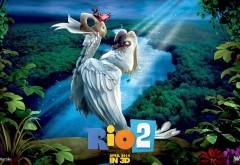 Рио 2, Найджел, белый попугай