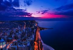 Чикаго закат