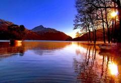 Обои лета на озере