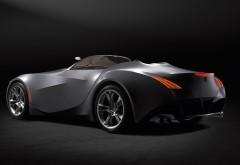 Супер автомобиль на черном фоне