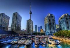 Торонто Канада с видом на гавань